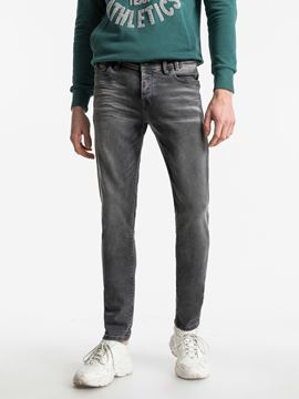 Picture of SERVANDO X ORIMER UNDAMAGED WASH TROUSERS