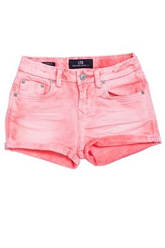 Picture of JUDIE G BURNT CORAL WASH SHORT