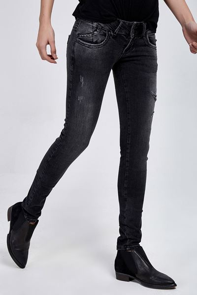 Picture of MOLLY VISTA BLACK WASH TROUSERS