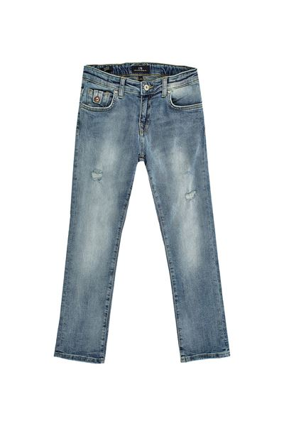 Picture of FLIPE B MONTAGNA WASH TROUSERS