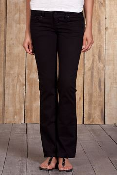 Picture of VALERIE BLACK WASH TROUSERS