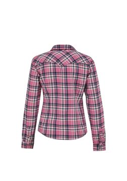 Picture of LUCINDA DAWN PINK CHECK WASH SHIRT